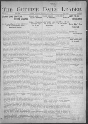 The Guthrie Daily Leader. (Guthrie, Okla.), Vol. 18, No. 55, Ed. 1, Thursday, July 25, 1901