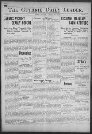 Primary view of object titled 'The Guthrie Daily Leader. (Guthrie, Okla.), Vol. 23, No. 115, Ed. 1, Saturday, May 28, 1904'.
