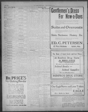 The Guthrie Daily Leader  (Guthrie, Okla ), Vol  28, No  84