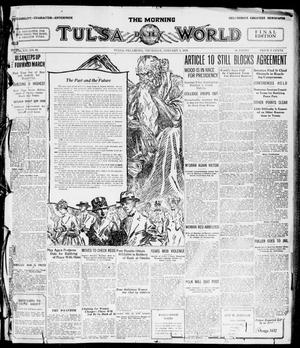 Primary view of object titled 'The Morning Tulsa Daily World (Tulsa, Okla.), Vol. 14, No. 95, Ed. 1, Thursday, January 1, 1920'.