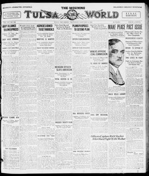 Primary view of object titled 'The Morning Tulsa Daily World (Tulsa, Okla.), Vol. 14, No. 102, Ed. 1, Thursday, January 8, 1920'.