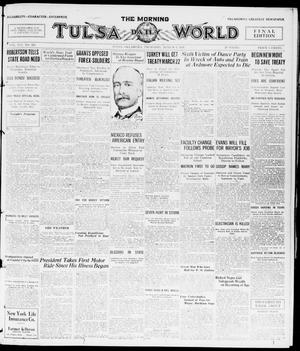 Primary view of object titled 'The Morning Tulsa Daily World (Tulsa, Okla.), Vol. 14, No. 159, Ed. 1, Thursday, March 4, 1920'.
