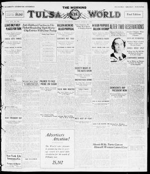 Primary view of object titled 'The Morning Tulsa Daily World (Tulsa, Okla.), Vol. 14, No. 160, Ed. 1, Friday, March 5, 1920'.
