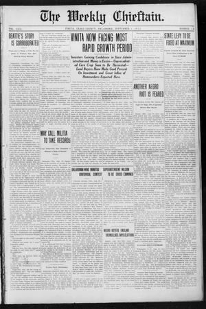 Primary view of object titled 'The Weekly Chieftain. (Vinita, Okla.), Vol. 29, No. 12, Ed. 1 Friday, September 1, 1911'.