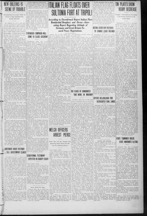 Primary view of object titled 'The Weekly Chieftain. (Vinita, Okla.), Vol. 29, No. 7, Ed. 1 Friday, October 13, 1911'.