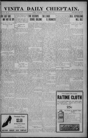 Primary view of object titled 'Vinita Daily Chieftain. (Vinita, Okla.), Vol. 14, No. 45, Ed. 1 Tuesday, June 18, 1912'.