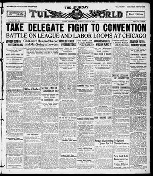 Primary view of The Sunday Tulsa Daily World (Tulsa, Okla.), Vol. 14, No. 253, Ed. 1, Sunday, June 6, 1920