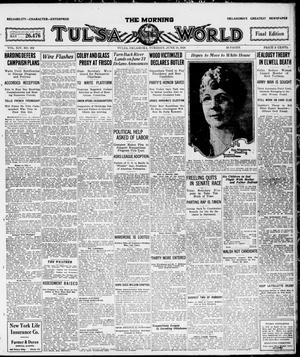 Primary view of object titled 'The Morning Tulsa Daily World (Tulsa, Okla.), Vol. 14, No. 262, Ed. 1, Tuesday, June 15, 1920'.