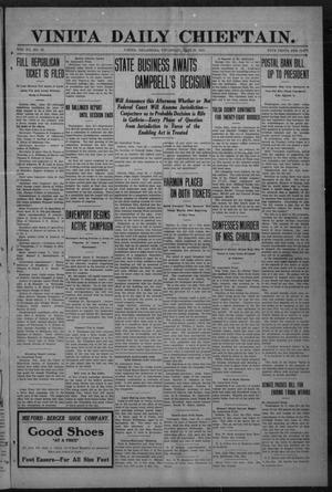Primary view of Vinita Daily Chieftain. (Vinita, Okla.), Vol. 12, No. 56, Ed. 1 Thursday, June 23, 1910