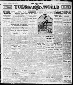 Primary view of object titled 'The Morning Tulsa Daily World (Tulsa, Okla.), Vol. 14, No. 331, Ed. 1, Tuesday, August 24, 1920'.