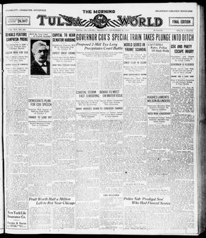 Primary view of object titled 'The Morning Tulsa Daily World (Tulsa, Okla.), Vol. 14, No. 361, Ed. 1, Thursday, September 23, 1920'.