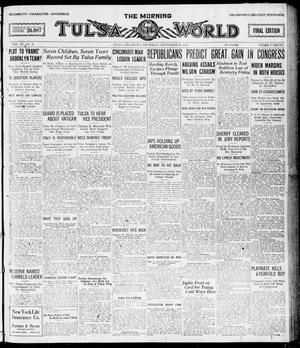 Primary view of object titled 'The Morning Tulsa Daily World (Tulsa, Okla.), Vol. 15, No. 2, Ed. 1, Thursday, September 30, 1920'.
