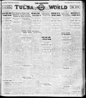 Primary view of object titled 'The Morning Tulsa Daily World (Tulsa, Okla.), Vol. 15, No. 51, Ed. 1, Friday, November 19, 1920'.