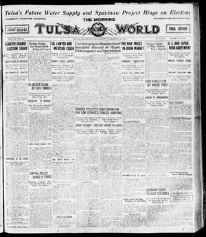 Primary view of object titled 'The Morning Tulsa Daily World (Tulsa, Okla.), Vol. 15, No. 52, Ed. 1, Saturday, November 20, 1920'.