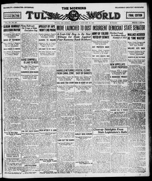 Primary view of object titled 'The Morning Tulsa Daily World (Tulsa, Okla.), Vol. 15, No. 107, Ed. 1, Saturday, January 15, 1921'.