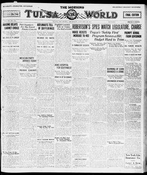 Primary view of object titled 'The Morning Tulsa Daily World (Tulsa, Okla.), Vol. 15, No. 112, Ed. 1, Thursday, January 20, 1921'.