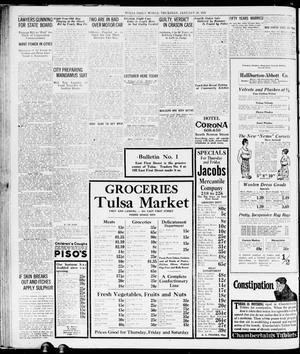 The Morning Tulsa Daily World (Tulsa, Okla.), Vol. 15, No. 112, Ed. 1,  Thursday, January 20, 1921 - Page 12 of 14 - The Gateway to Oklahoma History
