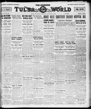 Primary view of object titled 'The Morning Tulsa Daily World (Tulsa, Okla.), Vol. 15, No. 135, Ed. 1, Saturday, February 12, 1921'.