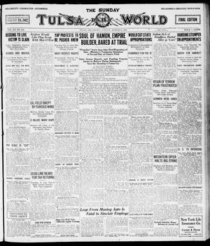 Primary view of object titled 'The Sunday Tulsa Daily World (Tulsa, Okla.), Vol. 15, No. 164, Ed. 1, Sunday, March 13, 1921'.