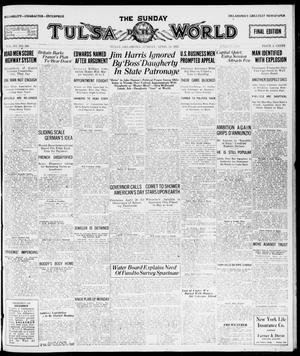 Primary view of object titled 'The Sunday Tulsa Daily World (Tulsa, Okla.), Vol. 15, No. 206, Ed. 1, Sunday, April 24, 1921'.