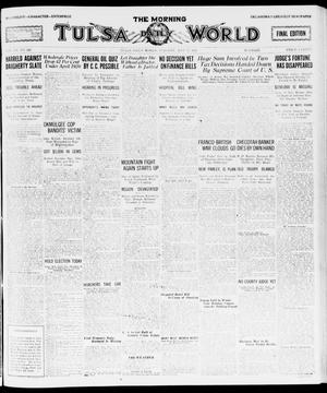 Primary view of object titled 'The Morning Tulsa Daily World (Tulsa, Okla.), Vol. 15, No. 228, Ed. 1, Tuesday, May 17, 1921'.