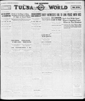 Primary view of object titled 'The Morning Tulsa Daily World (Tulsa, Okla.), Vol. 15, No. 232, Ed. 1, Saturday, May 21, 1921'.