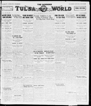 Primary view of object titled 'The Morning Tulsa Daily World (Tulsa, Okla.), Vol. 15, No. 270, Ed. 1, Tuesday, June 28, 1921'.