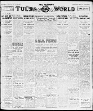 Primary view of object titled 'The Morning Tulsa Daily World (Tulsa, Okla.), Vol. 15, No. 288, Ed. 1, Saturday, July 16, 1921'.