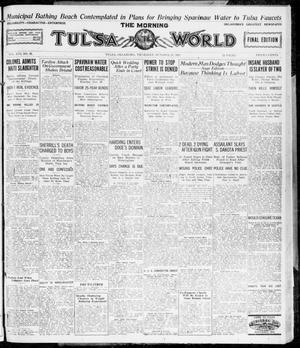 Primary view of object titled 'The Morning Tulsa Daily World (Tulsa, Okla.), Vol. 16, No. 27, Ed. 1, Thursday, October 27, 1921'.