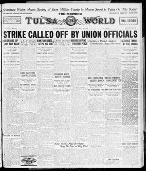 Primary view of object titled 'The Morning Tulsa Daily World (Tulsa, Okla.), Vol. 16, No. 28, Ed. 1, Friday, October 28, 1921'.