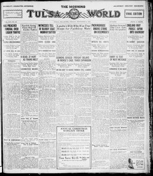 Primary view of object titled 'The Morning Tulsa Daily World (Tulsa, Okla.), Vol. 16, No. 63, Ed. 1, Friday, December 2, 1921'.