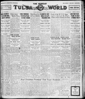 Primary view of object titled 'The Sunday Tulsa Daily World (Tulsa, Okla.), Vol. 16, No. 72, Ed. 1, Sunday, December 11, 1921'.