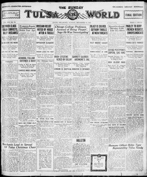 Primary view of object titled 'The Sunday Tulsa Daily World (Tulsa, Okla.), Vol. 16, No. 79, Ed. 1, Sunday, December 18, 1921'.