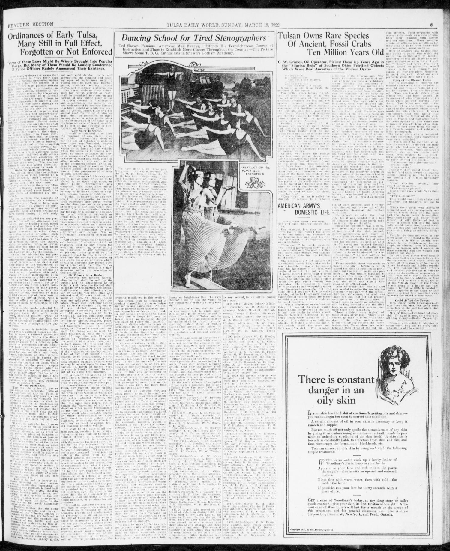 The Sunday Tulsa Daily World (Tulsa, Okla ), Vol  16, No