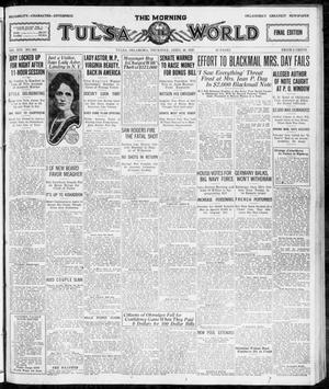 Primary view of object titled 'The Morning Tulsa Daily World (Tulsa, Okla.), Vol. 16, No. 202, Ed. 1, Thursday, April 20, 1922'.