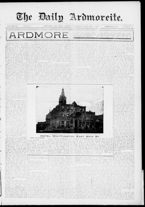 Primary view of object titled 'The Daily Ardmoreite. (Ardmore, Indian Terr.), Vol. 11, No. 76, Ed. 1, Friday, February 5, 1904'.