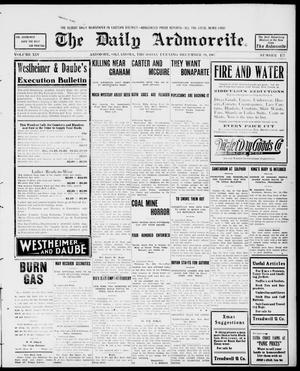 Primary view of object titled 'The Daily Ardmoreite. (Ardmore, Okla.), Vol. 14, No. 177, Ed. 1, Thursday, December 19, 1907'.