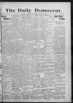 Primary view of object titled 'The Daily Democrat. (Anadarko, Okla.), Vol. 1, No. 93, Ed. 1, Tuesday, May 7, 1907'.