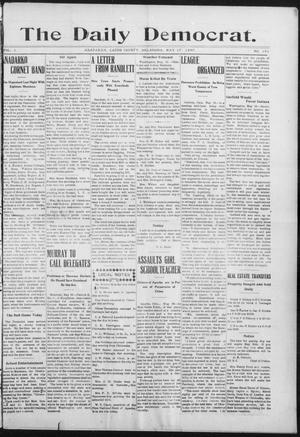 Primary view of object titled 'The Daily Democrat. (Anadarko, Okla.), Vol. 1, No. 101, Ed. 1, Friday, May 17, 1907'.