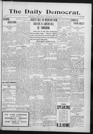 Primary view of object titled 'The Daily Democrat. (Anadarko, Okla.), Vol. 1, No. 103, Ed. 1, Monday, May 20, 1907'.