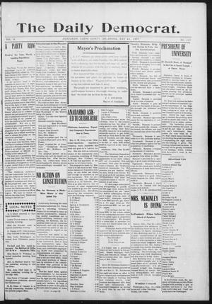 Primary view of object titled 'The Daily Democrat. (Anadarko, Okla.), Vol. 6, No. 107, Ed. 1, Friday, May 24, 1907'.