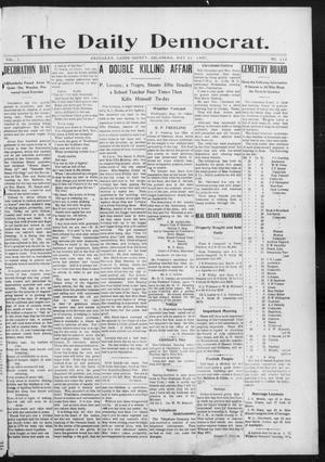 Primary view of object titled 'The Daily Democrat. (Anadarko, Okla.), Vol. 1, No. 112, Ed. 1, Friday, May 31, 1907'.