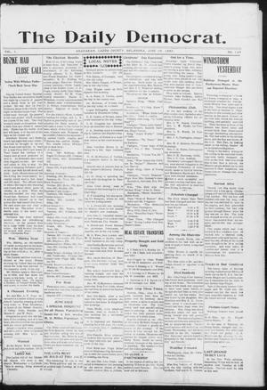 Primary view of object titled 'The Daily Democrat. (Anadarko, Okla.), Vol. 1, No. 120, Ed. 1, Monday, June 10, 1907'.