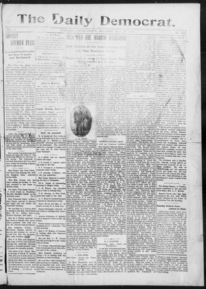 Primary view of object titled 'The Daily Democrat. (Anadarko, Okla.), Vol. 1, No. 151, Ed. 1, Wednesday, July 17, 1907'.
