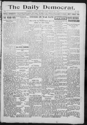 Primary view of object titled 'The Daily Democrat. (Anadarko, Okla.), Vol. 1, No. 182, Ed. 1, Friday, August 23, 1907'.