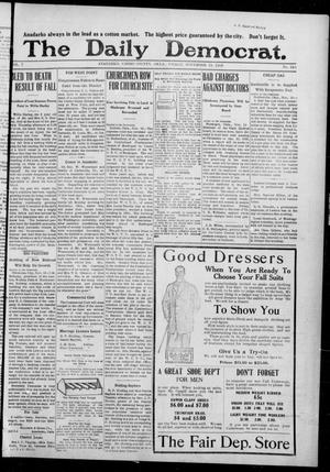 Primary view of object titled 'The Daily Democrat. (Anadarko, Okla.), Vol. 7, No. 249, Ed. 1, Friday, November 13, 1908'.