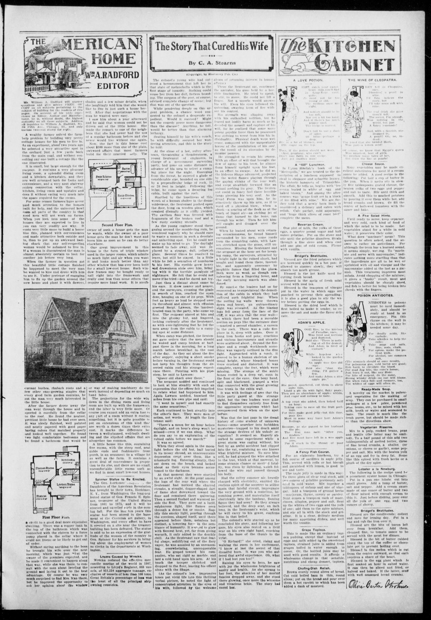The Daily Democrat. (Anadarko, Okla.), Vol. 7, No. 252, Ed. 1, Tuesday, November 17, 1908                                                                                                      [Sequence #]: 3 of 4