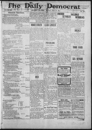 Primary view of object titled 'The Daily Democrat (Anadarko, Okla.), Vol. 13, No. 138, Ed. 1, Monday, July 20, 1914'.