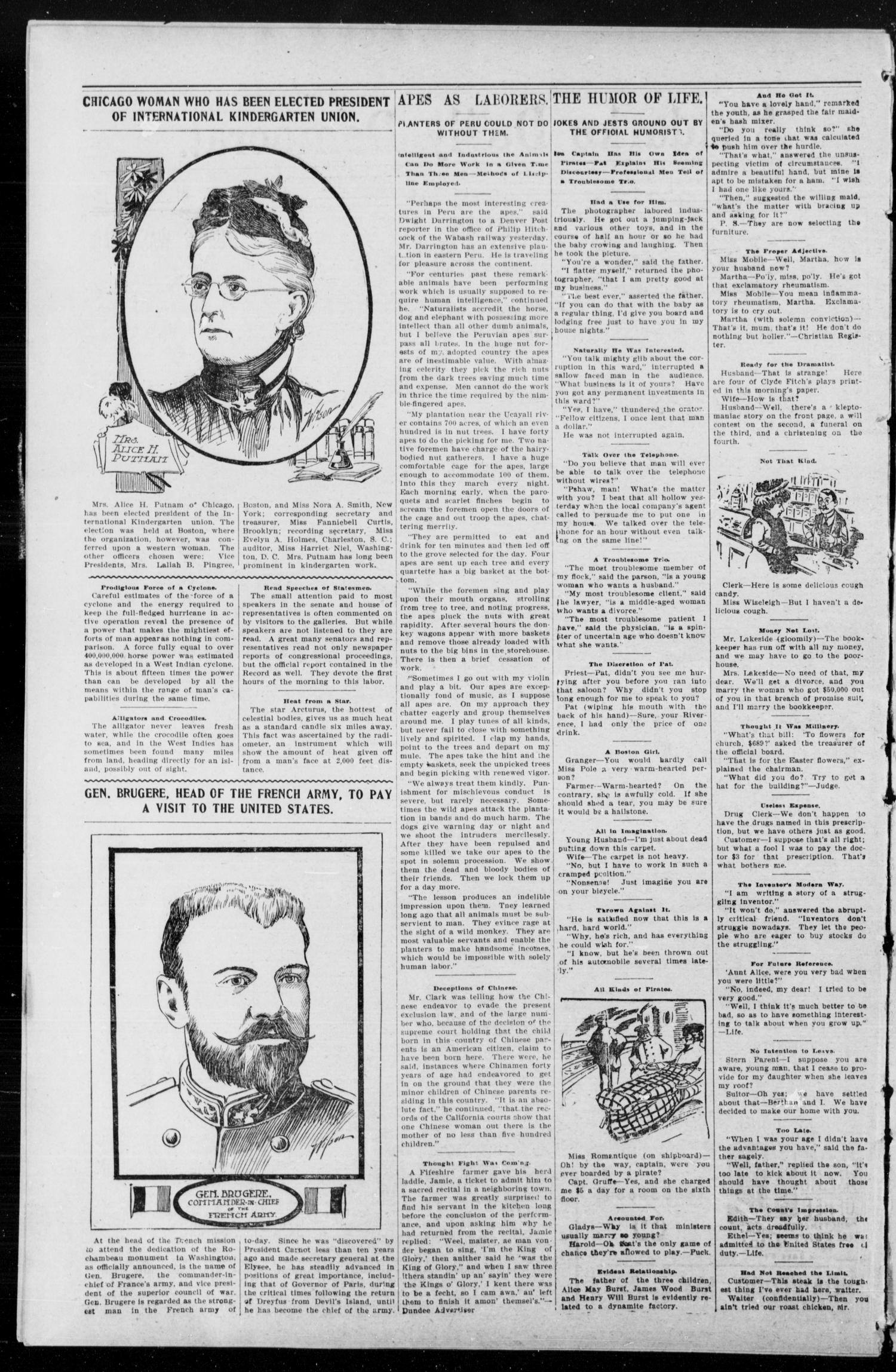 Anadarko Daily Democrat. (Anadarko, Okla.), Vol. 1, No. 222, Ed. 1, Thursday, May 29, 1902                                                                                                      [Sequence #]: 2 of 8