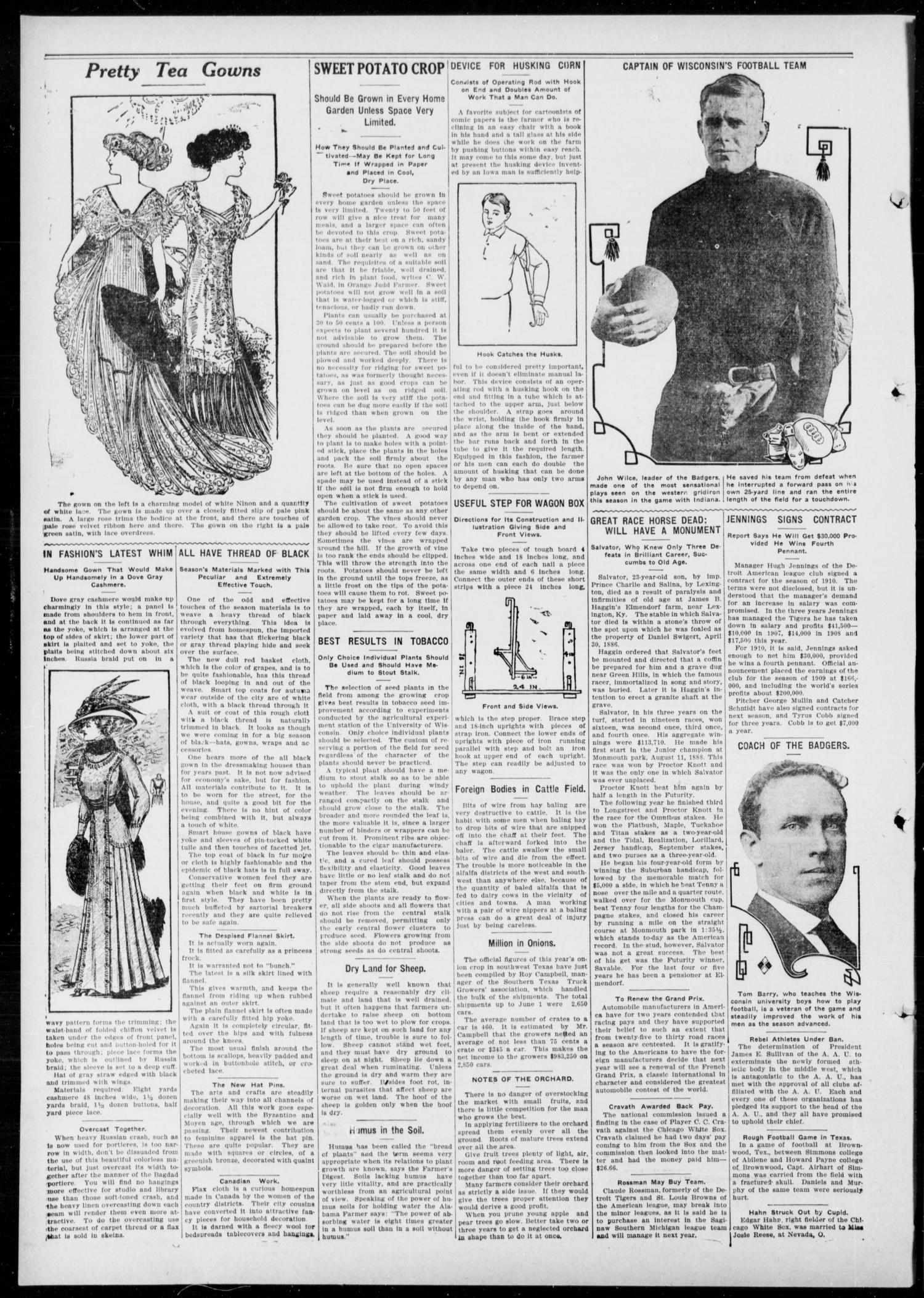Anadarko Daily Democrat (Anadarko, Okla.), Vol. 8, No. 313, Ed. 1, Monday, February 7, 1910                                                                                                      [Sequence #]: 2 of 4